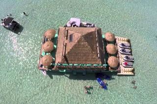 Beautiful Emerald Waters Destin, Florida Crab Island – Drone Video
