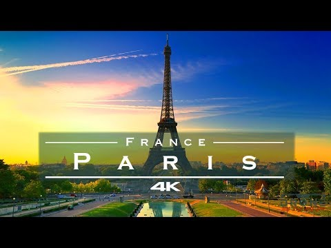 Paris, France – by drone [4K]