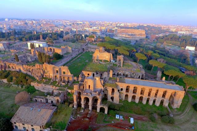 Ruinas romanas, Roma, Italia