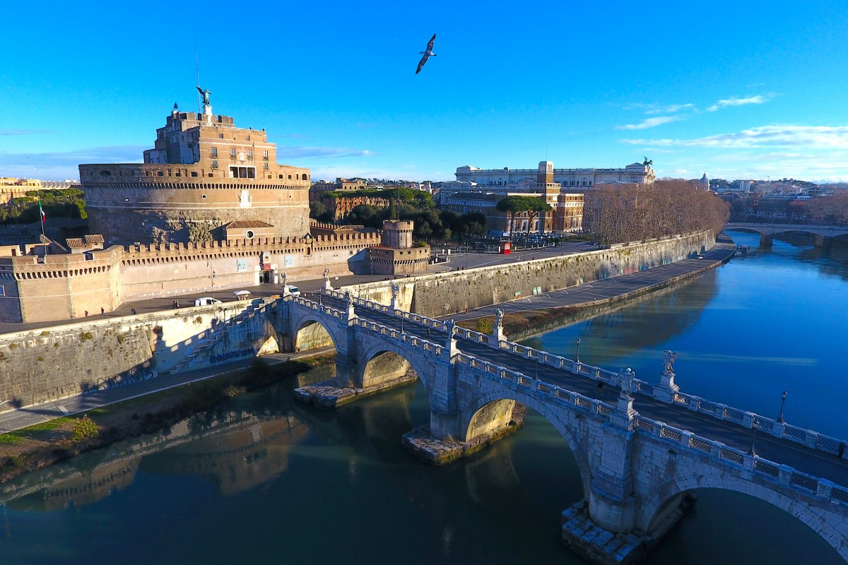 CASTEL SANT'ANGELO ROMA, ITALIA / VISTA RIO TIBER