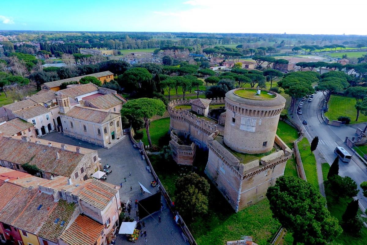 Basílica de Santa Aurea, Ostia Antica Italia.
