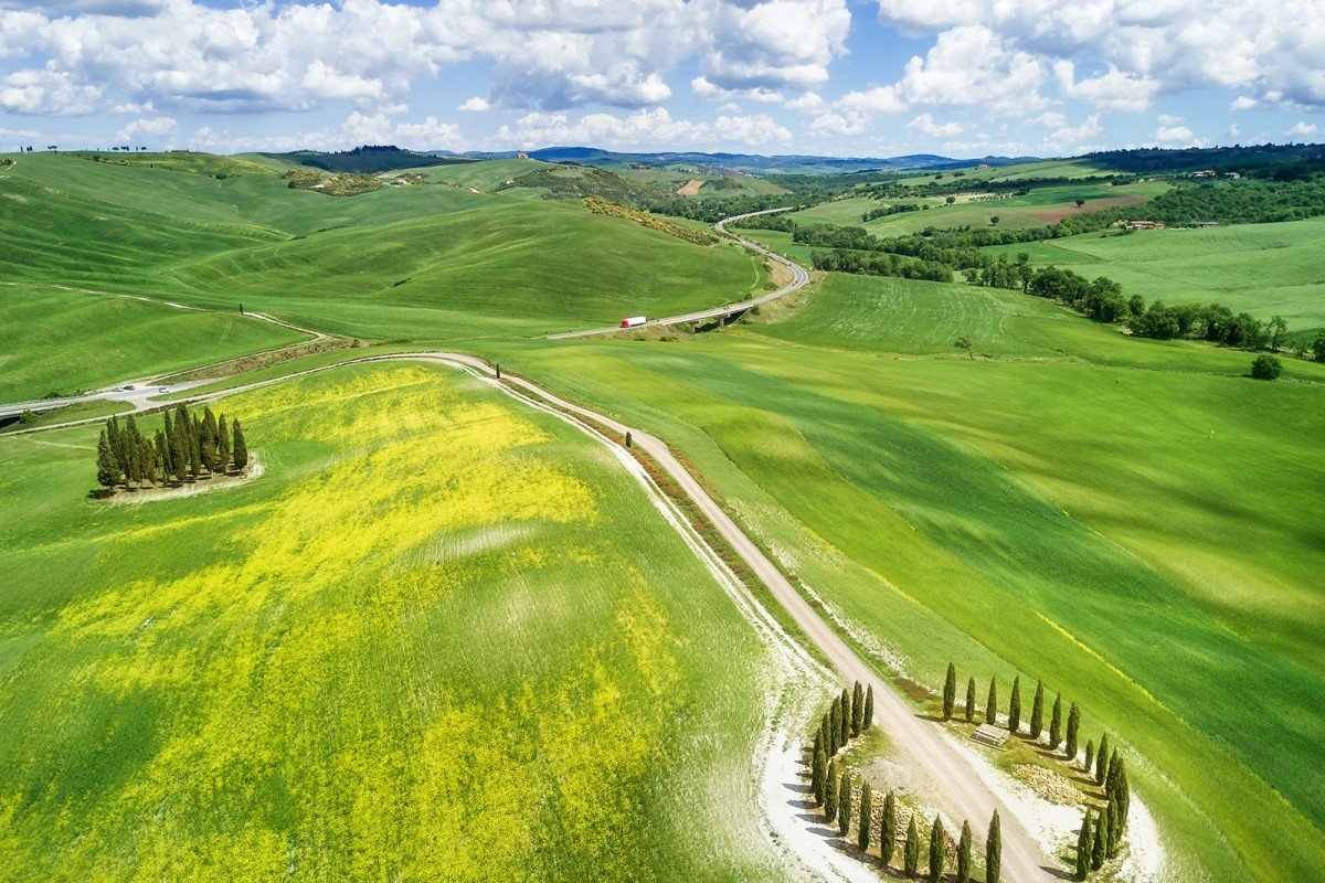 Spring in Val d'Orcia