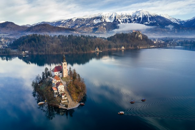 Lake Bled morning