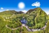 Reunion Island, waterfall