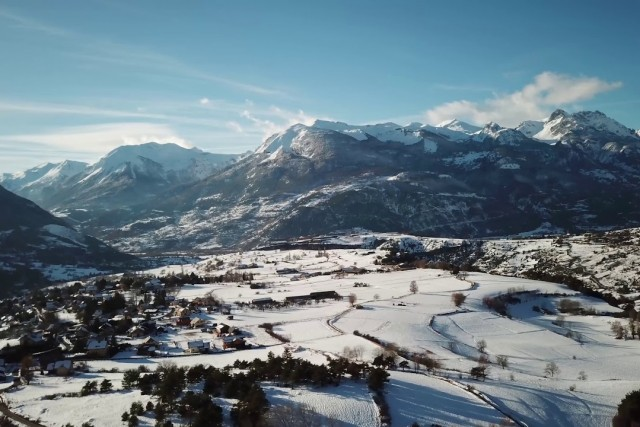 4K, Mavic pro, Guillestre, Hautes alpes, France
