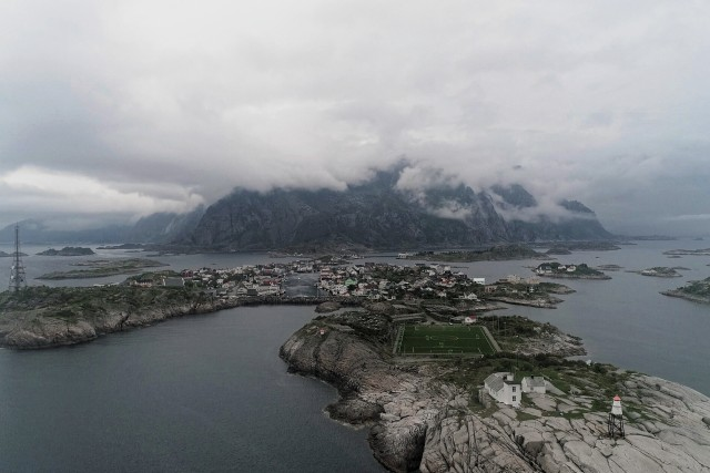 Henningsvær Lofoten Islands Norway