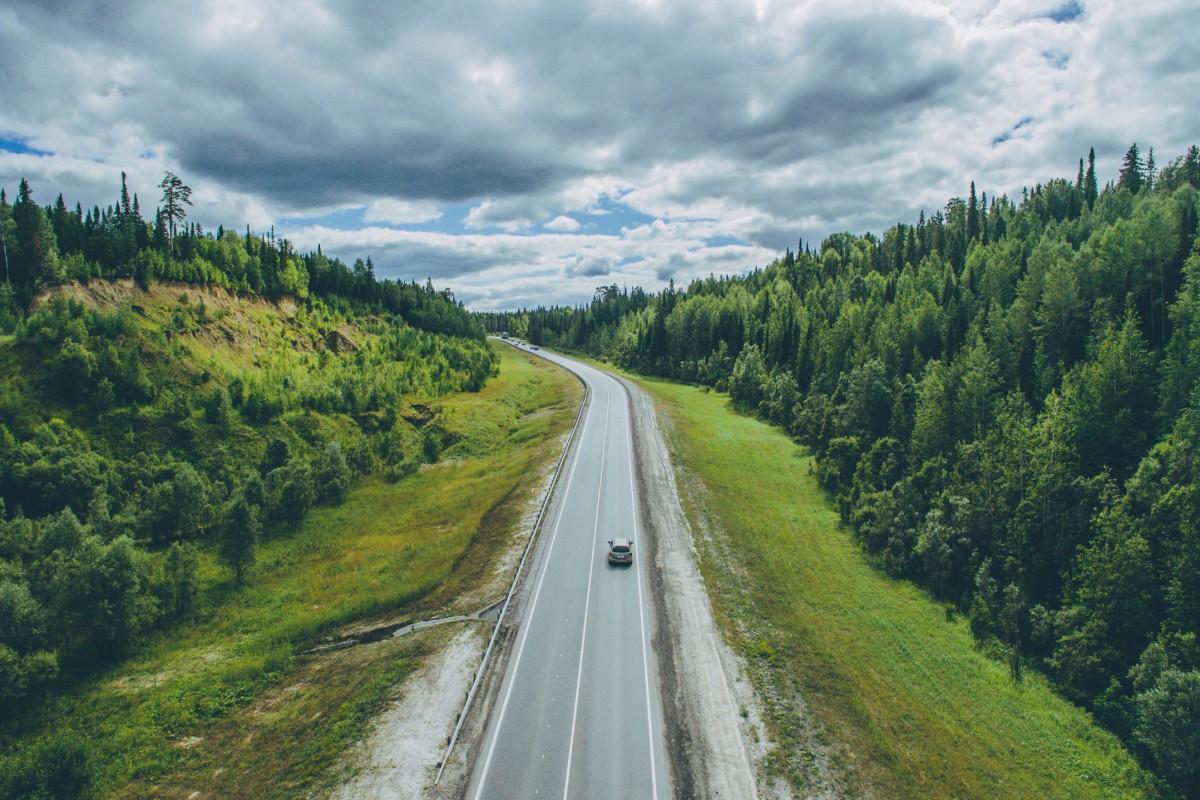 Northern road