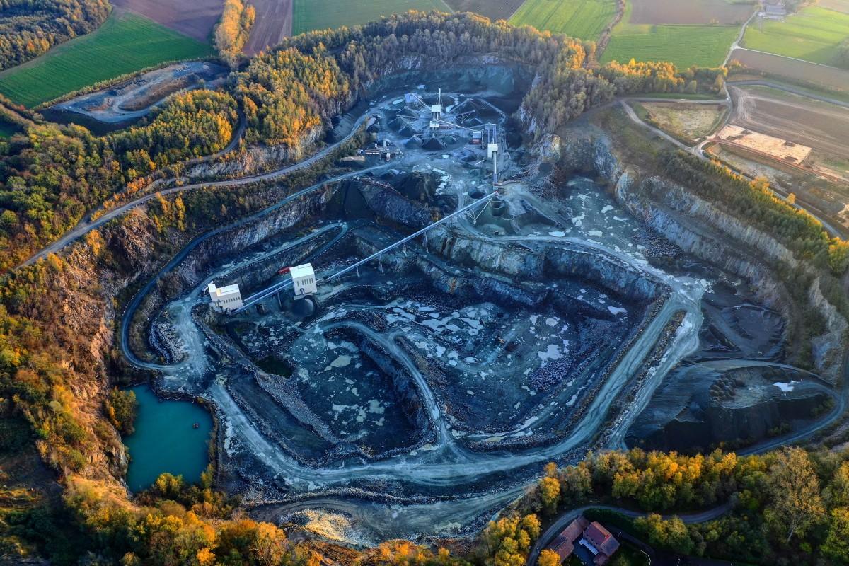 Porphyry Quarry, Belgium