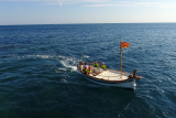 Castellers on a Boat