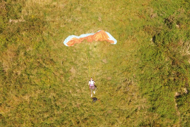 Search & Rescue for crashed paraglider