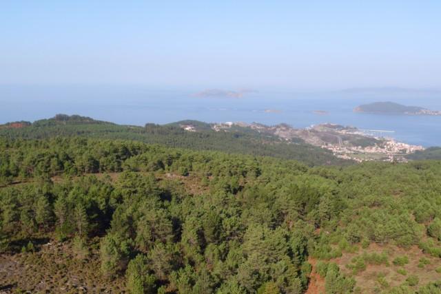 Cíes Islands, Vigo, Galicia, Spain