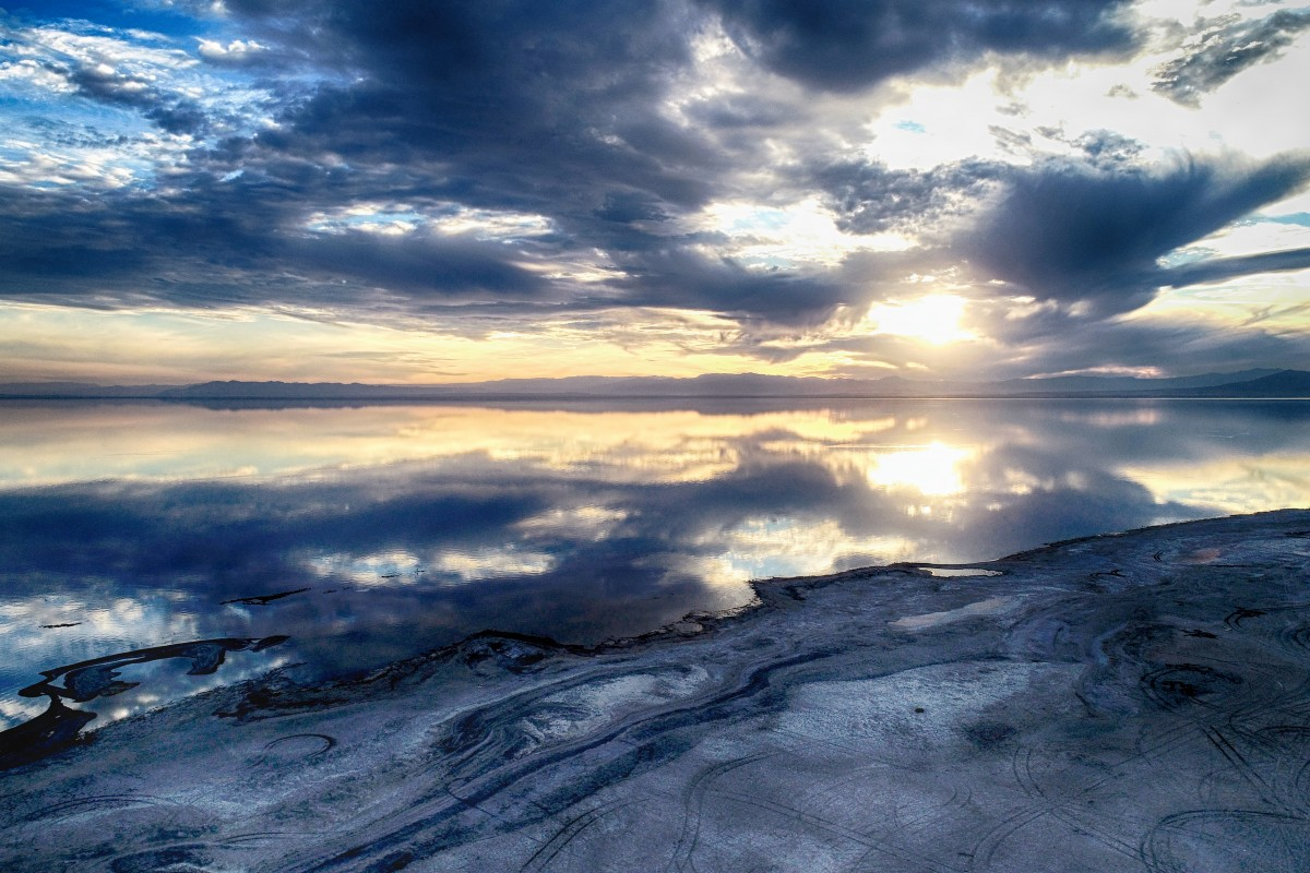Reflections Over the Salton
