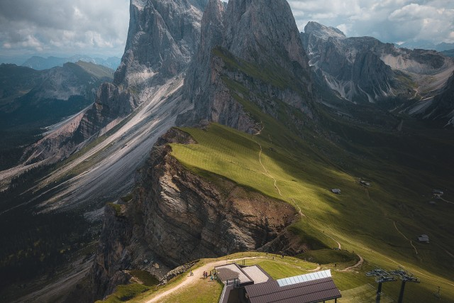 Seceda mountain