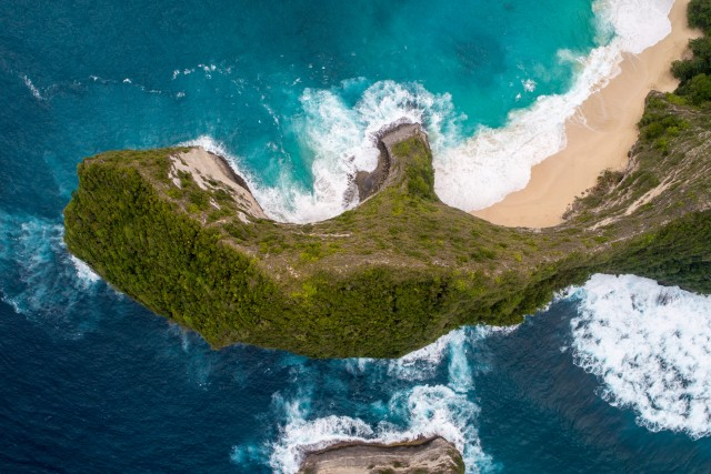 Bali from above – kelingking beach