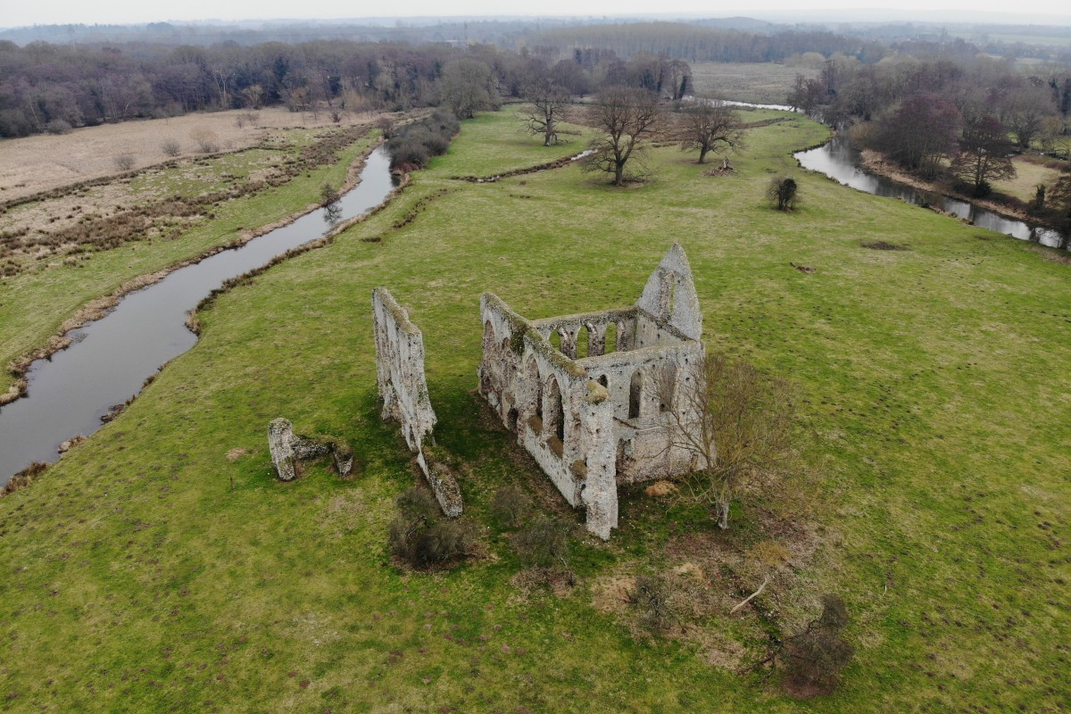 Ruins of Newark Priory, Surrey