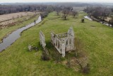 Ruins of Newark Priory, Surrey