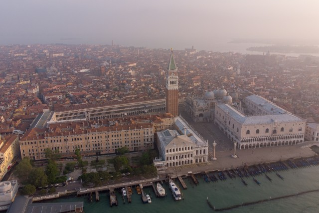 Venice from the above