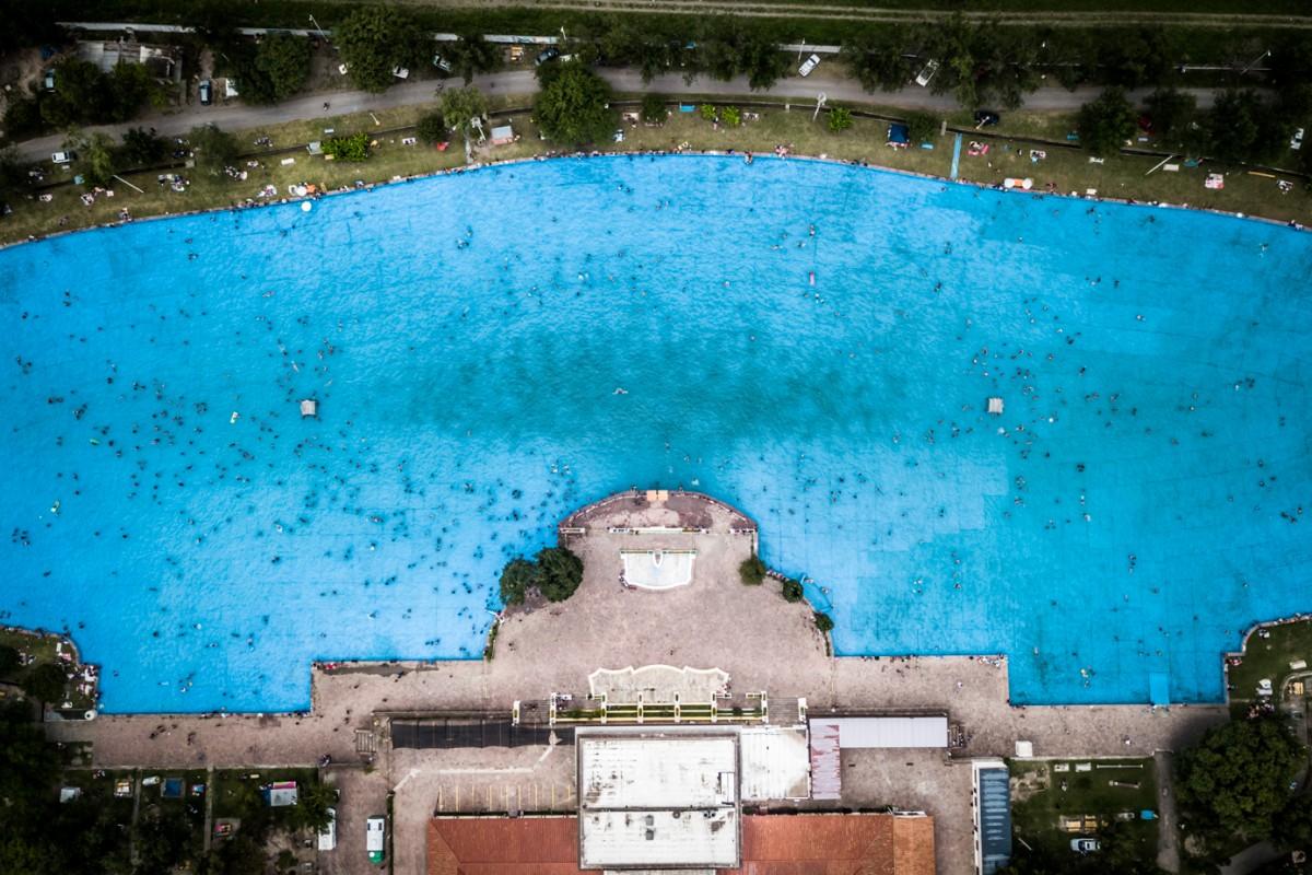 Biggest swimmingpool ever!