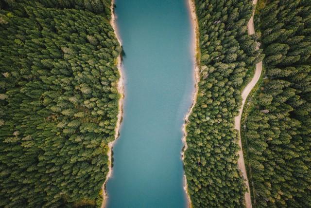 Bolboci Lake, Carpathian Mountains, Romania