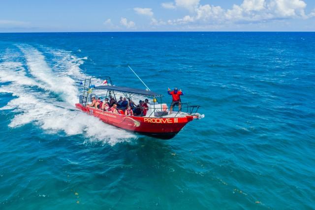 atrapando al barco