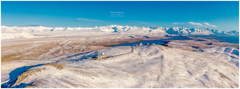 New Zealand Mount John Observatory