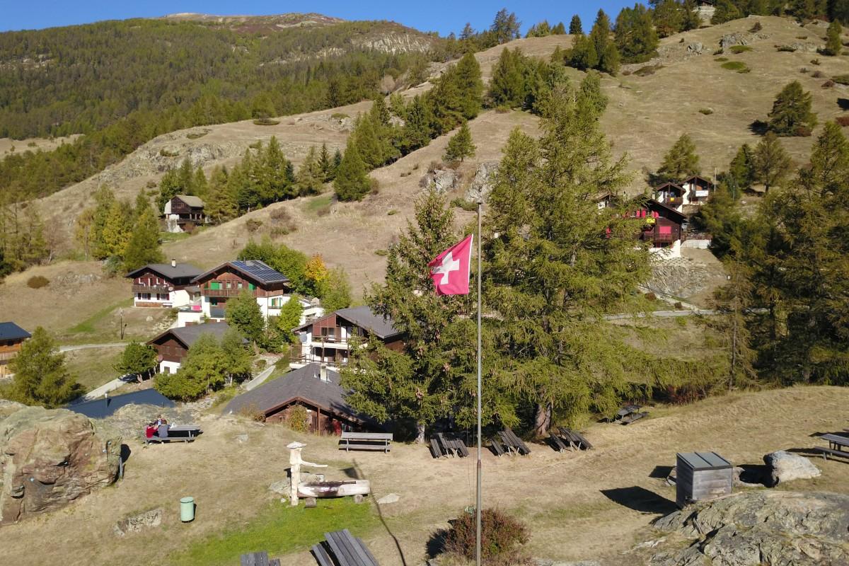 Swiss flag – freedom & peace