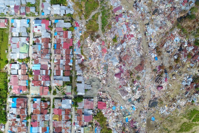 Luck of the draw – Earthquake Damage, Palu, Indonesia