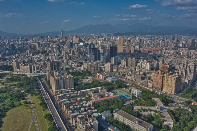 Taipei Aerial View