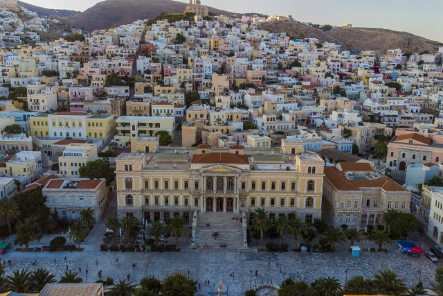 Ermoupolis City Hall – Syros, Greece
