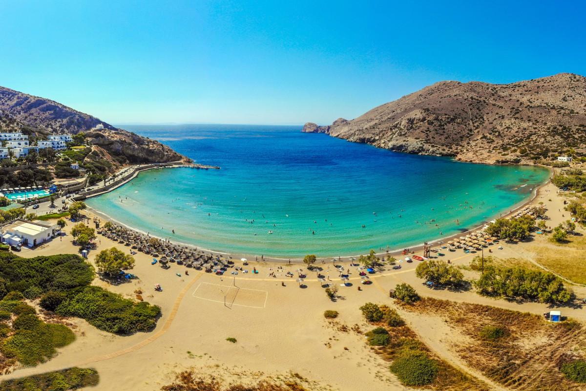 Galissas Beach – Syros, Greece