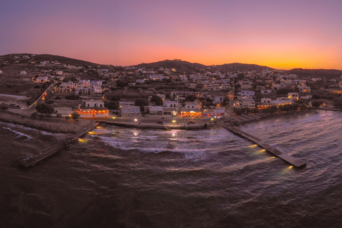 Azolimnos Beach – Syros, Greece