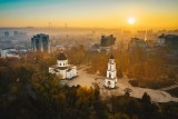 Sunrise in Chisinau, Moldova Republic