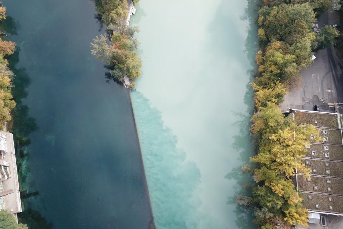 Jonction – Genève – Partage des eaux