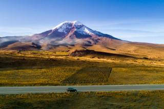 Crossing the Chimborazo