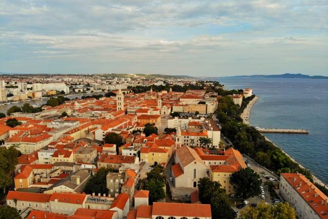 Above Zadar