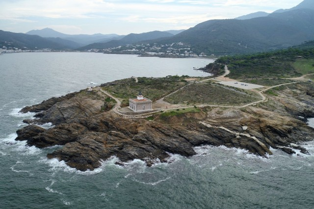Lighthouse in Costa Brava