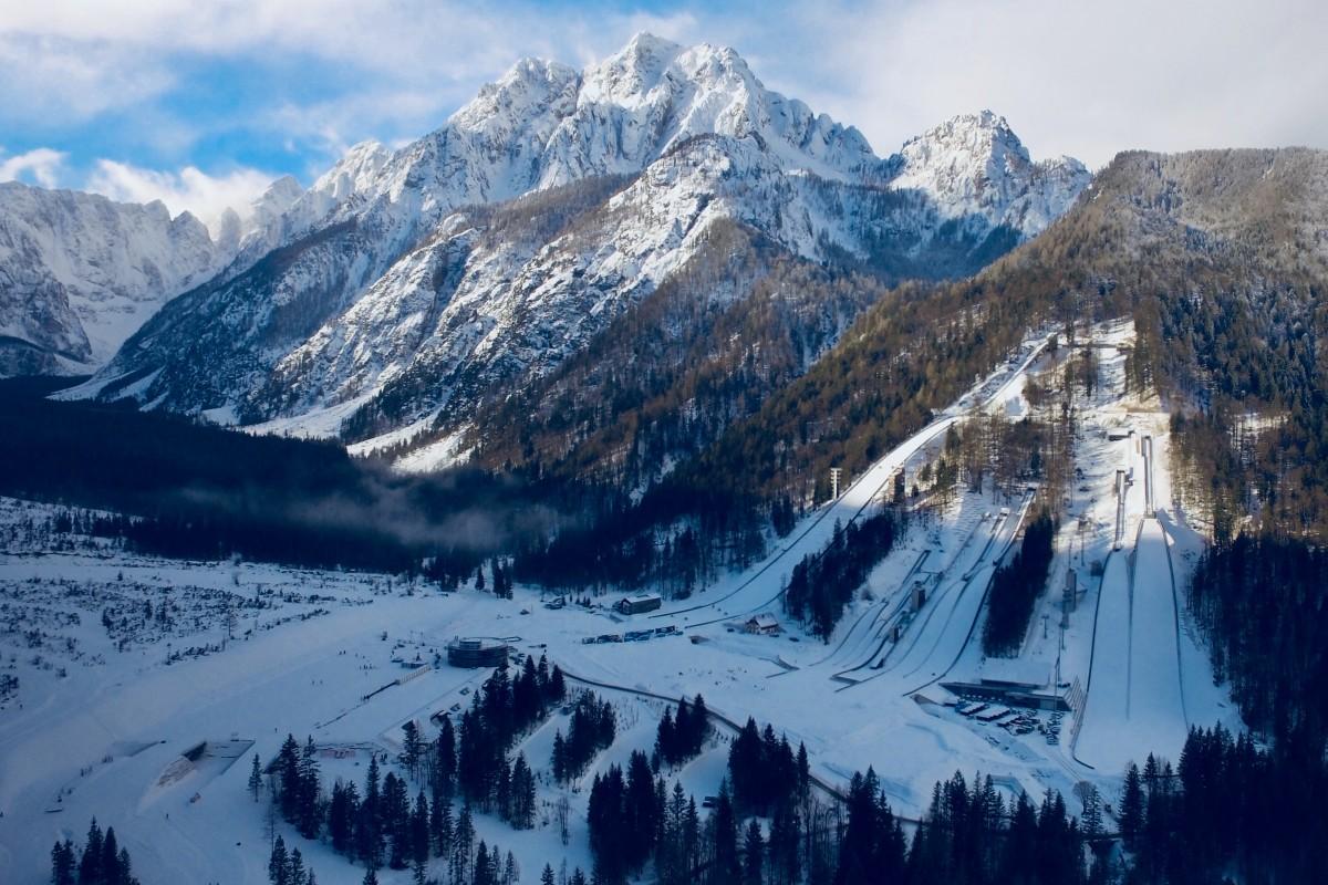 Winter below Ponca