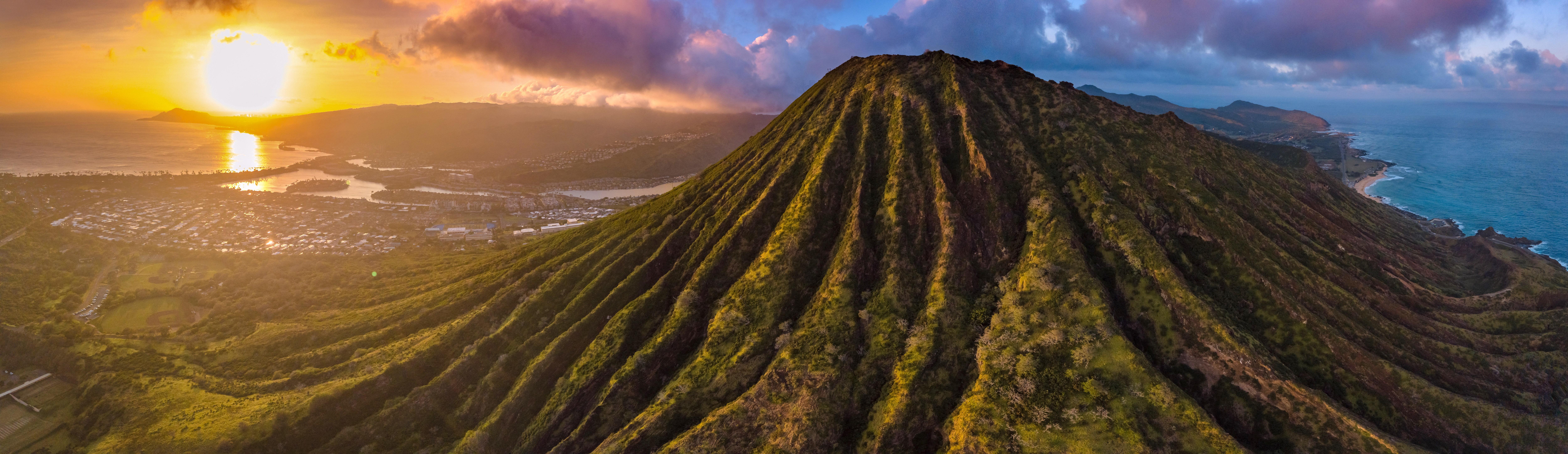 Hawaiian Sunset near Koko Crater