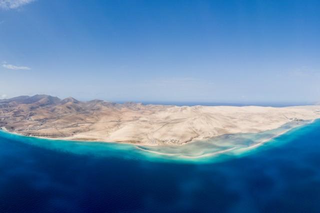 Lagoon on Fuerteventura