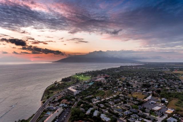 Sunset at Maui, Hawai