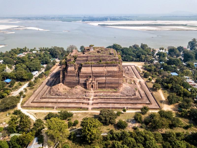 Mingun Pagoda 4