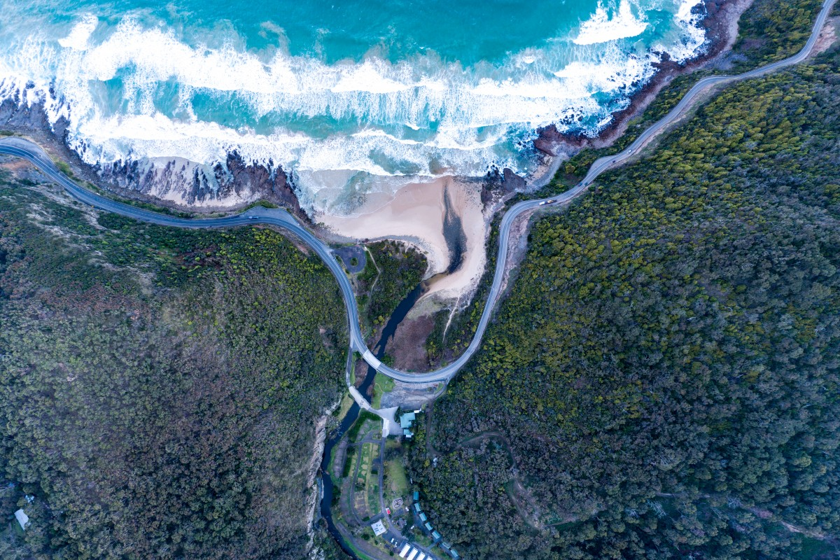 Sky View – Great Ocean road