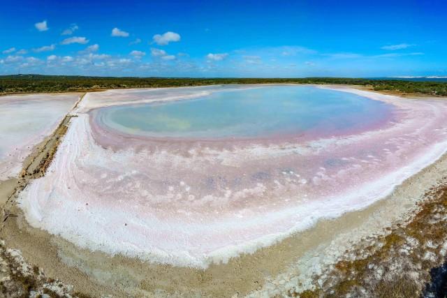 The salt pans of Salt Creek, South Australia