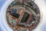 Hamburg Speicherstadt Little Planet HDR