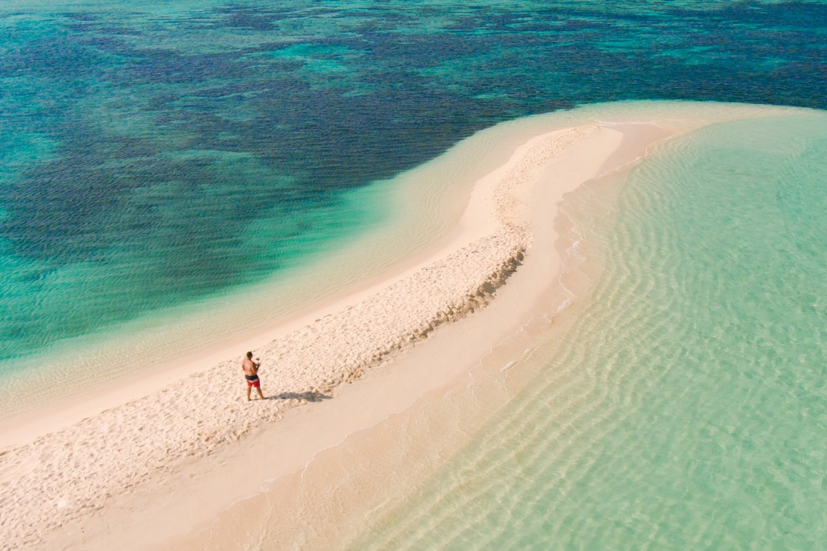Alone in Flat Island