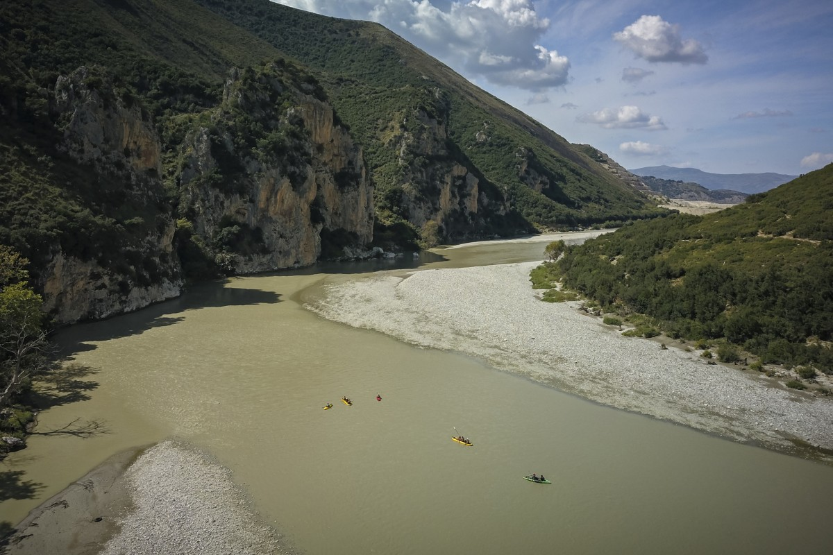 Cliffs of Albania