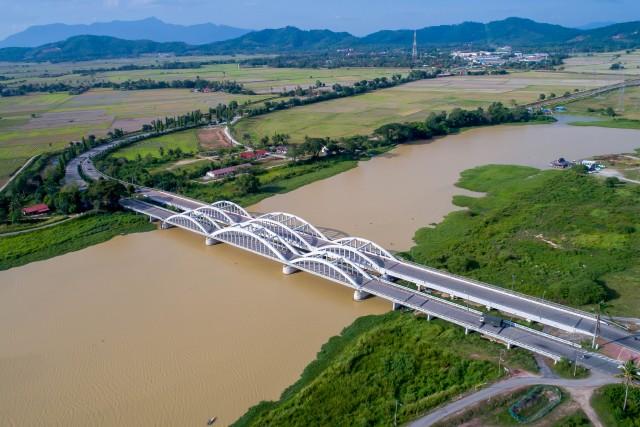 Twin Bridge in Penang, Malaysia
