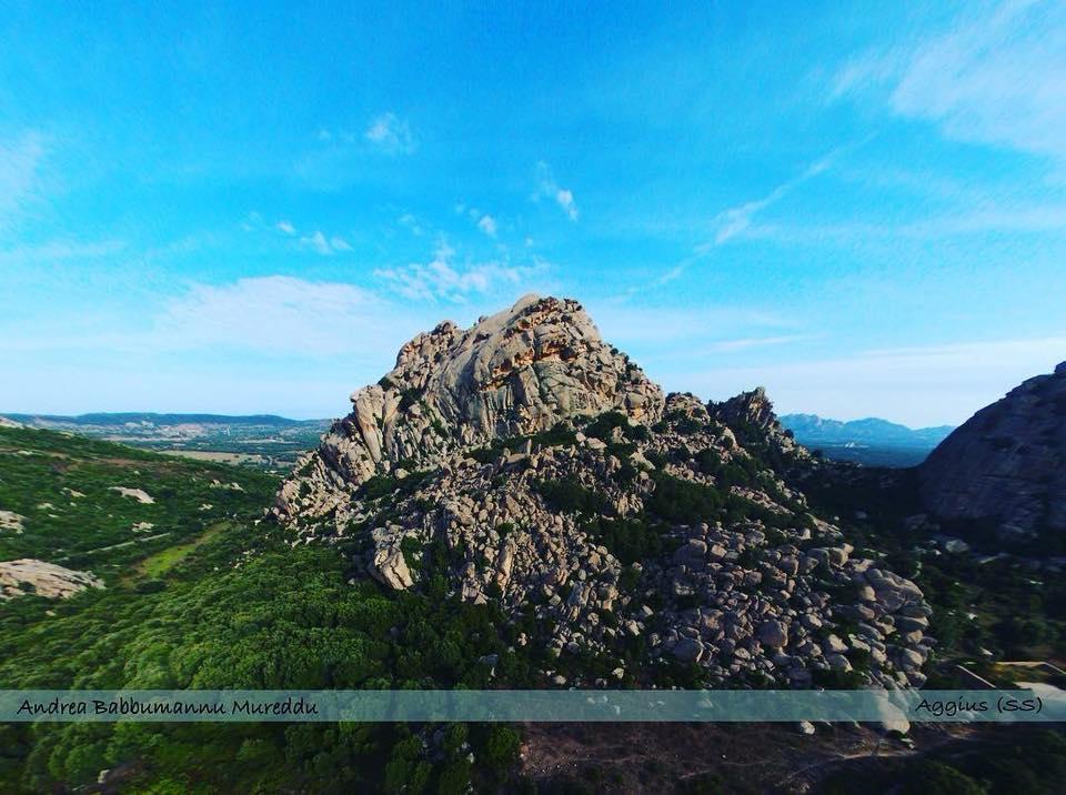 Mount in Aggius (Sardinia)