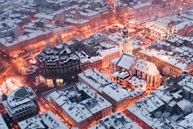 Winter at Lviv
