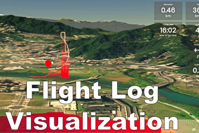 Flight Log Visualization